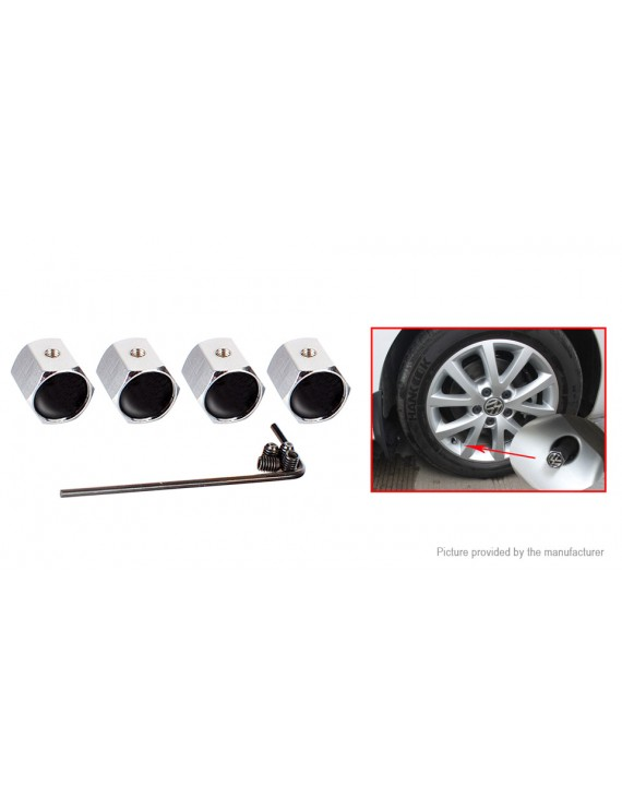 VIHIMAI 4PCS Tire Caps red Aluminum Alloy Valve Stem Cap Decorative Accessory for Tesla Model Y X S 3